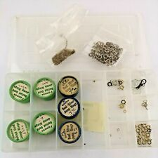 Collection of Jewelers and Watchmakers Jump Rings inc Silver & Rolled Gold (DA7)