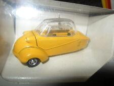 1:43 Gama Messerschmitt Kabinenroller gelb/yellow Nr. 51007 OVP