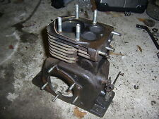 VILLIERS C12 STATIONARY ENGINE, ENGINE BLOCK, CAMSHAFT AND BEARING