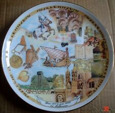 Royal Vale Collectors Plate YEAR 501 TO YEAR 1000 Millennium Collection