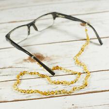 Amber Eyeglasses Holder Handmade Spectacle Cord Beaded Glasses Holder Neck Gift