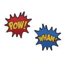 Comic Book Inspired Pow-Wham Double Sided Tennis Dampener by Racket Expressions