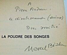 MARCEL BEALU  LA POUDRE DES SONGES 1977 ENVOI Signé FANTASTIQUE SURREALISME