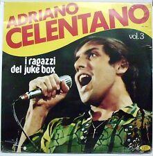 CELENTANO ADRIANO I RAGAZZI DEL JUKE BOX VOL. 3 LP SEALED
