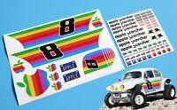 RC Vintage retro style 'APPLE SCORCHER'  Tamiya Sand Schorcher Decals stickers