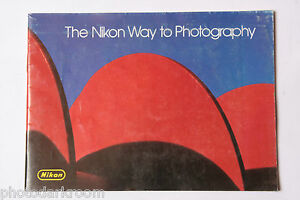 Nikon Way Photography Booklet Photo Situation Guide to F3 - English - USED M1-1