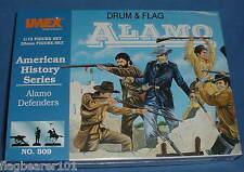 IMEX #509 ALAMO DEFENDERS. 1/72 SCALE UNPAINTED PLASTIC