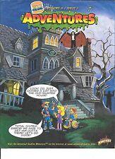 Burger King Kids Club Adventures Vol 8 #7 Universal Monsters 1997