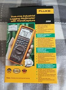 Fluke 289 True RMS Industrial Logging Multimeter With TrendCapture.  New / Boxed