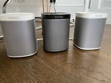3 Sonos Play 1 Wireless Speakers