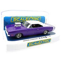 Scalextric C4148 Dodge Charger R/T - Purple 1/32 Slot Car