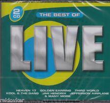 Best Of Live - Golden Earring, Jimi Hendrix, Heaven 17, u.a.  (2 CDs, NEU!)