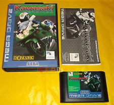KAWASAKI SUPERBIKES Sega Mega Drive Versione Europea PAL ○○○○ COMPLETO - AJ