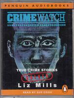 Crimewatch Liz Mills True Crime Stories Solved 2 Cassette Audio Book Sue Cook