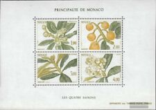 Monaco block29 (complete issue) used 1985 the four Seasons