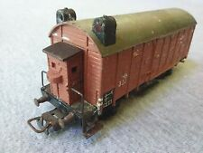 Marklin HO Scale #320 Enclosed Goods Freight Car w/ Brakemans Cab ~ TS