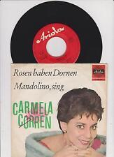 """7 """" Carmela Corren    -      Rosen haben Dornen"""