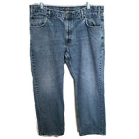 Eddie Bauer Mens Jeans Classic Straight Blue Light Wash Relaxed Fit Denim 40x34