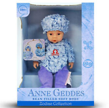 ANNE GEDDES DOLLS 'ZODIAC' collection NEW in Box BABY LIBRA Doll 9'' 579521