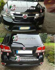 Heckleuchte+Scheinwerfer Rahmen Chrom  ABS für Fiat Freemont