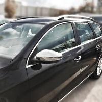 EDELSTAHL SPIEGELKAPPEN für VW EOS | JETTA 6 | PASSAT B7; CC | SCIROCCO | BEETLE