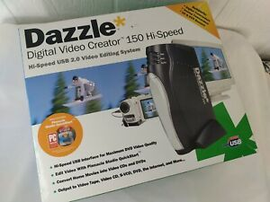 Dazzle Digital Video Creator 150 Hi-Speed USB 2.0 Video Editing System Open Box