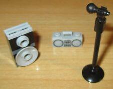 Lego City - Friends - 1 Radio - 1 Mikrofon mit Ständer und 1 Boxen