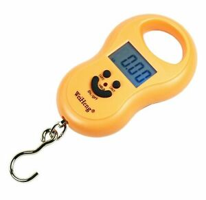 50Kg / 5g-10g Portable Digital Hanging Fishing Scale with Lighted LCD Display