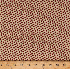 Apples Red Orchard Fruits Food Kitchen Cotton Fabric Print by the Yard D401.15