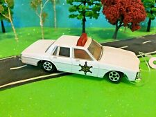 Ertl, 1/64 Scale 1980 Pontiac Bonneville Dukes Of Hazzard Sheriff, Red Light bar
