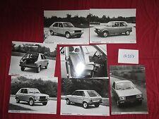 N°10354 / PEUGEOT gamme modéles 1979 ,texte et 26 photos de presse