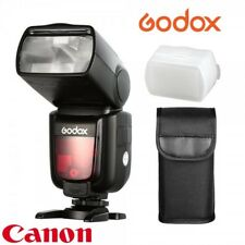 Flash Godox TT685 Canon TTL HSS Gn60 receptor interno 2.4Ghz. Difusor gratis