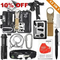 Outdoor Military Camping EDC Survival Kit Tactical Box Emergency Backpack Molle