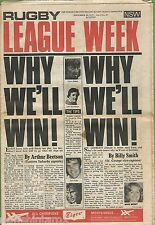 #T102. RUGBY LEAGUE WEEK, 20th September 1975, Grand Final Preview