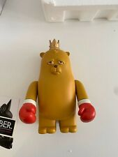 The Bear Champ - series 1 - 9 Art Collectible by JC Rivera x Pobber - SUPER RARE