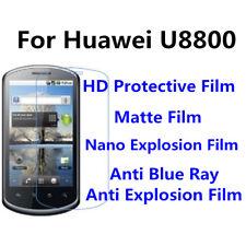 3pcs For Huawei U8800 Anti Blue Ray,Anti Fingerprint High Clear Screen Film