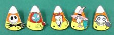 Disney Pin DLR Hidden Mickey NBC Nightmare Before Christmas Candy Corn Set of 5