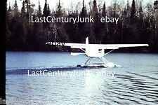35mm Ektachrome  Slide Waterplane Landing/ Wooded Scenery