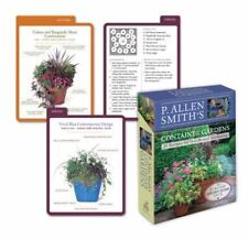 P. ALLEN SMITH'S CONTAINER GARDENS DECK: 50 RECIPES - BRAND NEW - Free Shipping