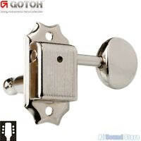 NEW Gotoh SD90-05M Vintage Style Tuning Keys Tuners for Gibson 3x3 3L+3R  NICKEL