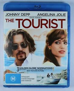 The Tourist Blu Ray FREE POST