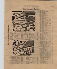1903 PAPER AD Winchester 1895 1902 1904  Gun Rifle Repair Parts Price Diagram