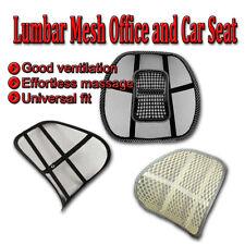 Zone Tech Mesh Back Pain Massage - Lumbar Support Cushion Chair Seat Car Office