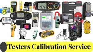 Calibration Service For Portable Appliance Testers (PAT) Seaward, Megger, & more