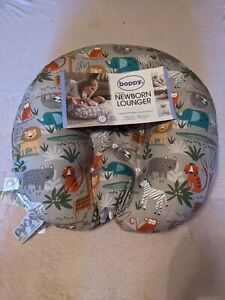 Boppy Original Newborn Lounger, Woodtone Jungle NWT