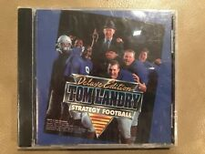 Deluxe Edition Tom Landry Strategy Football PC CD ROM Game 1993 Vintage
