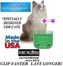 Andis Ultra bord EGT Plus Chat Blade 7fc 7F 1/8-3.2mm FIT plupart Oster, Wahl