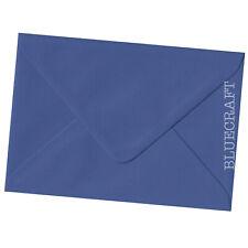 100 x A6.C6 Iris Navy Blue 100gsm Envelopes 114 x 162mm - 4.48 x 6.37 inches
