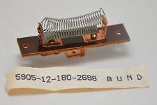 2x vintage filo-resistenza 4.5 Ohm F. TUBI AMPLIFICATORE RADIO TELEVISIONE auto, NOS