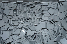LEGO BRICKS  50  x LIGHT GREY FLAT TILES  2 x 2 No 3068  CITY-STAR WARS